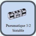 distributeur commande pneumatique 5 2 bistable. Black Bedroom Furniture Sets. Home Design Ideas