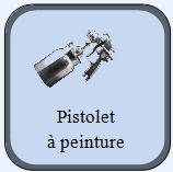 Pistolet peinture for Pistolet peinture air comprime