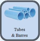 tubes et barres pvr. Black Bedroom Furniture Sets. Home Design Ideas